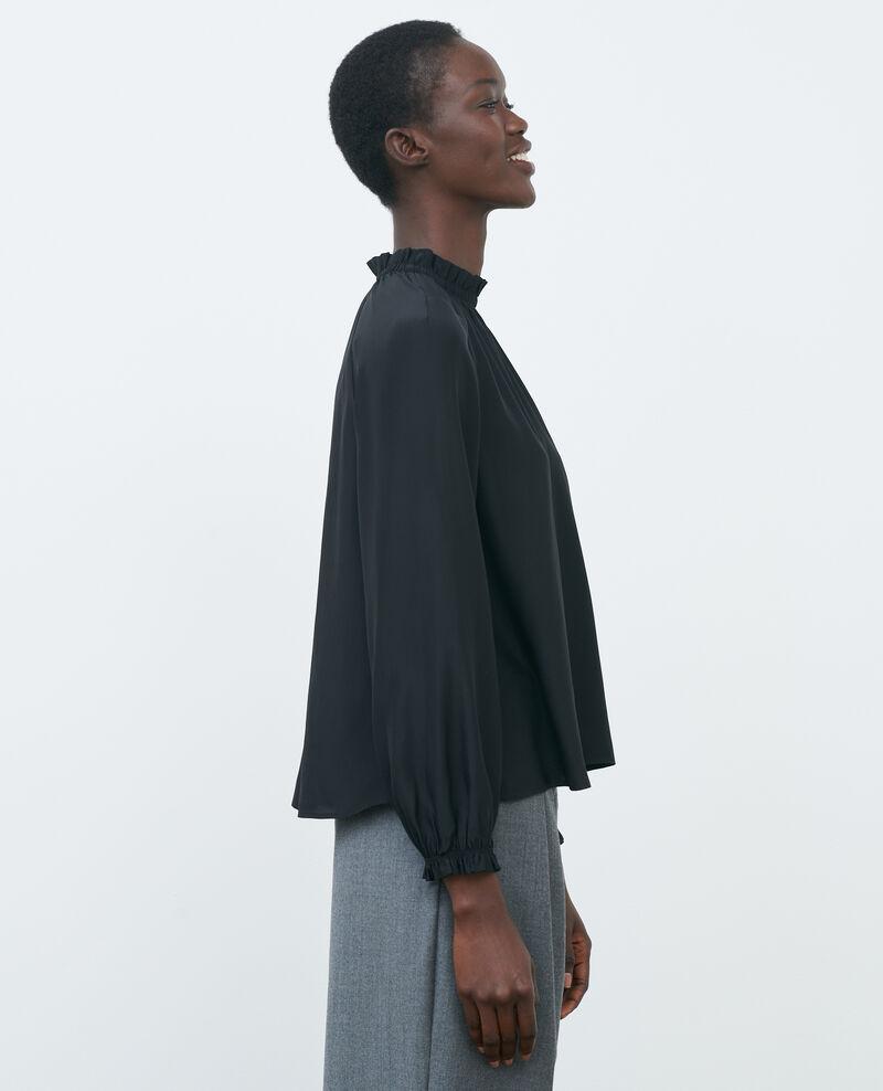 Silk blouse Black beauty Pachat
