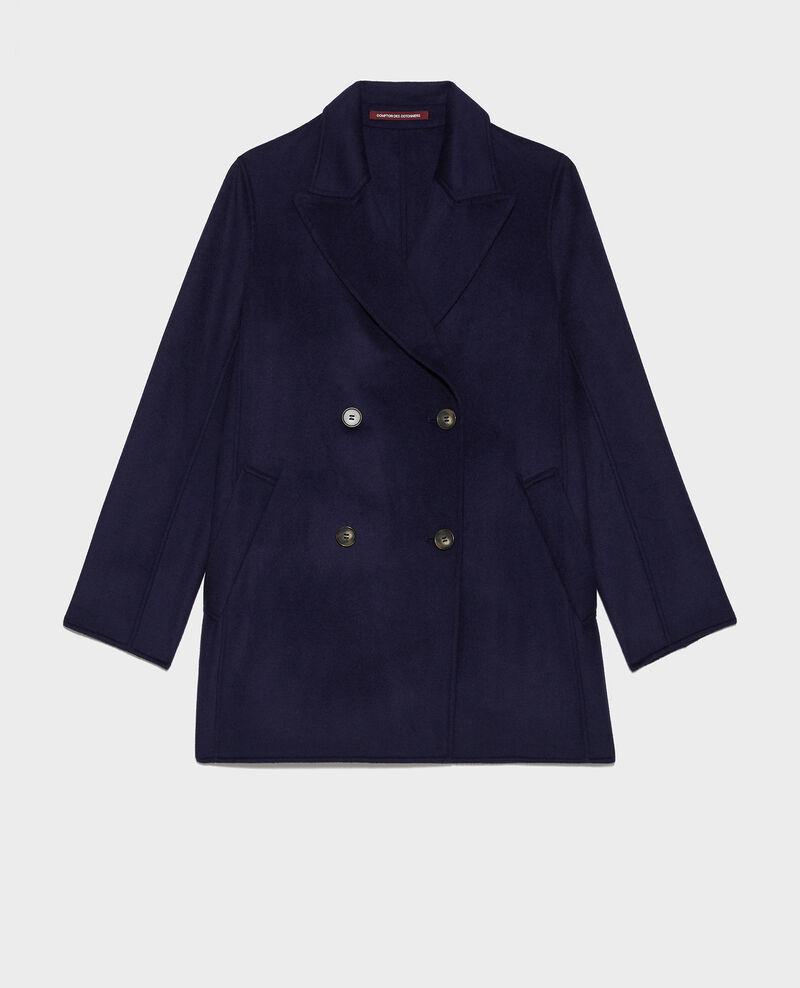 Short coat Maritime blue Lintot