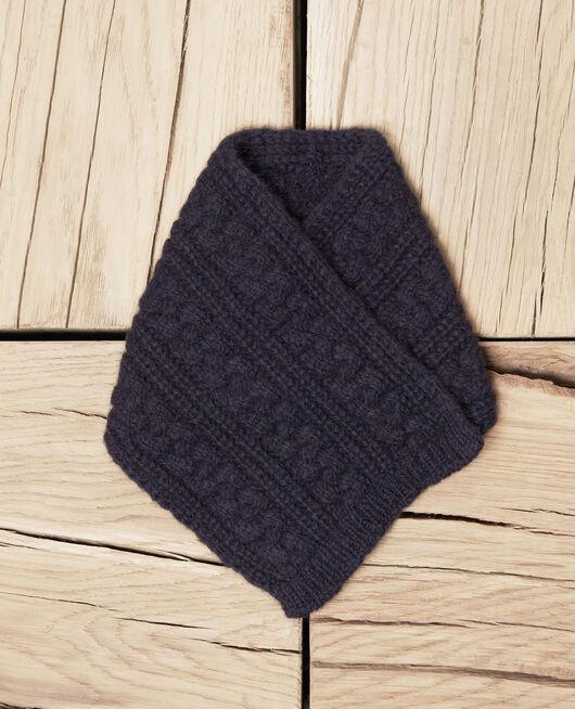 Knitted collar DARK NAVY