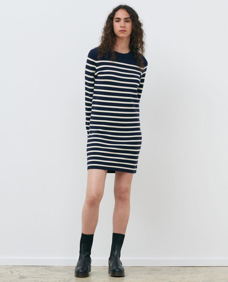 Striped mini dress Stp nv wht Piselle