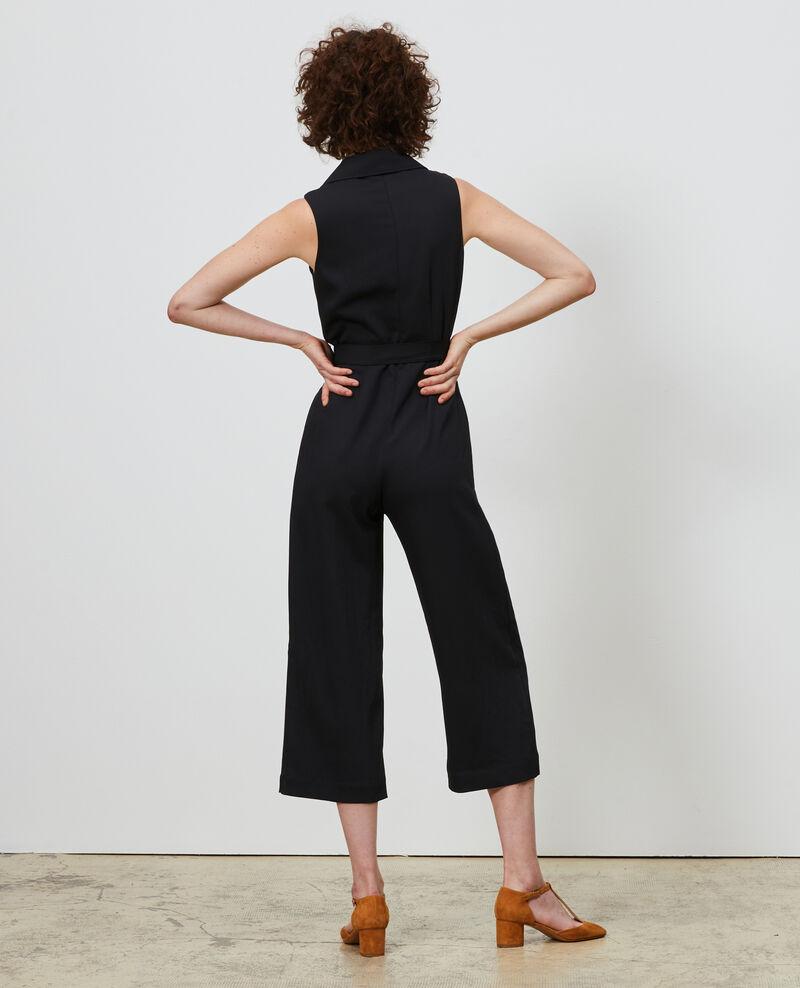 Jumpsuit with lapels Black beauty Narp