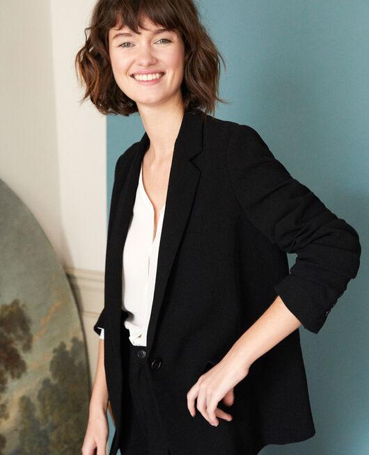 Suit-style jacket Black