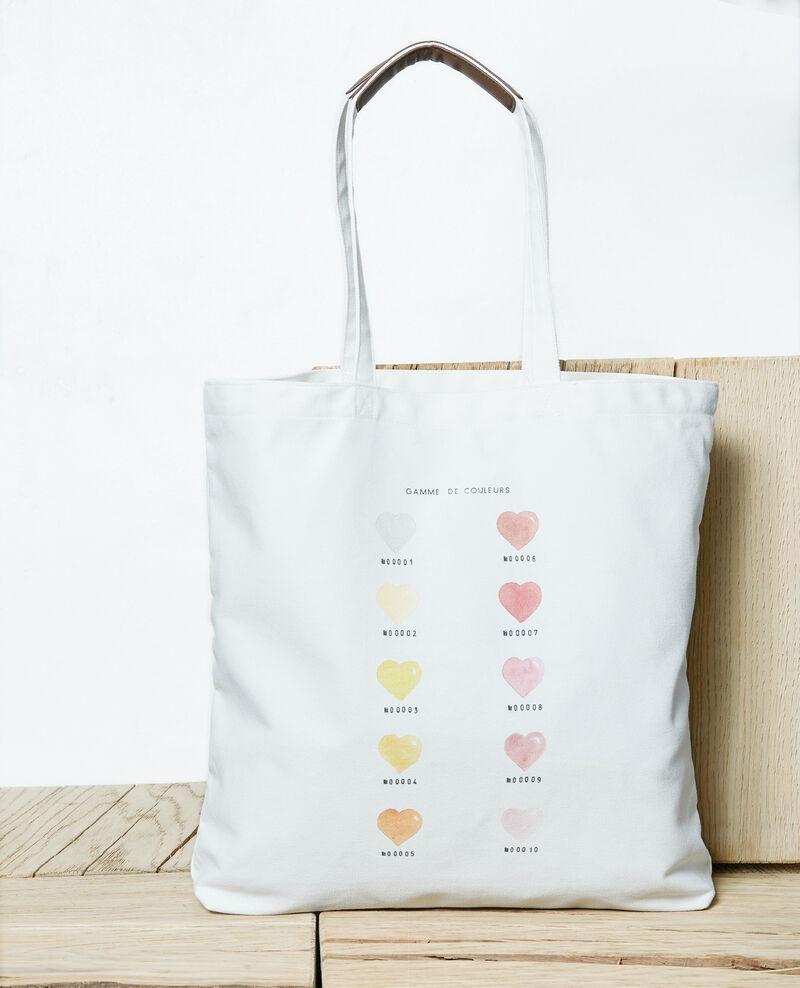 Medium tote bag Coeur gamme Iba