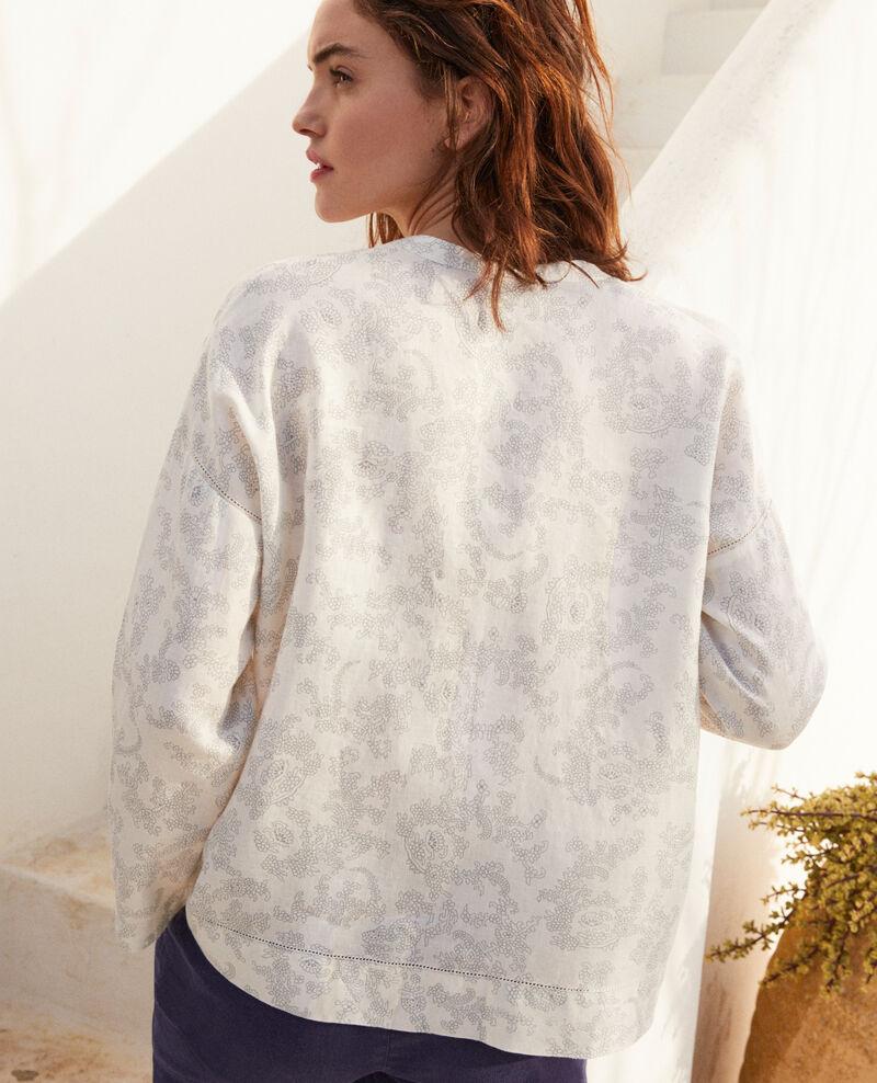 Printed blouse Bandana blue mirage Izera