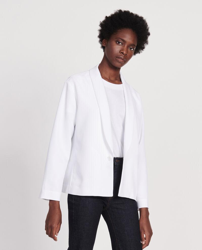 Tuxedo-style jacket Optical white Levibal