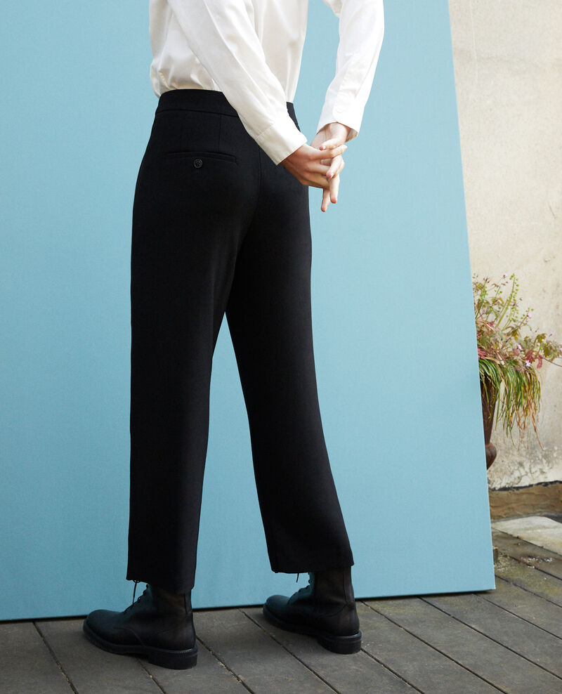 Loose fit trousers Black Galerie