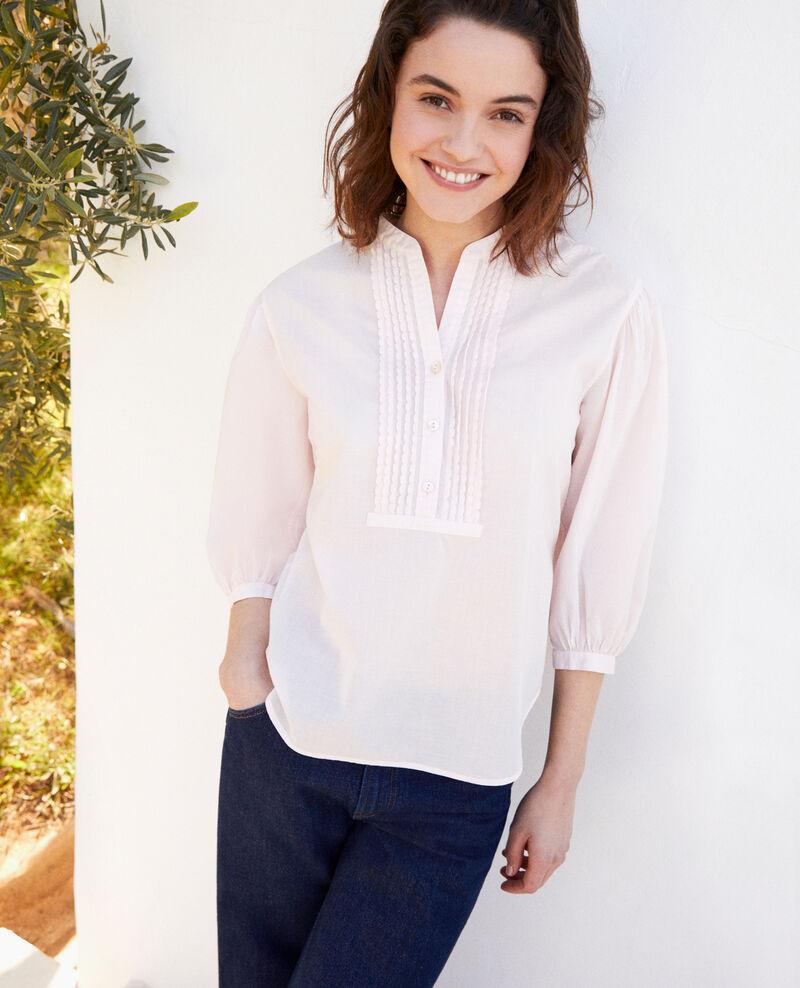 Yoke blouse Pink Itape