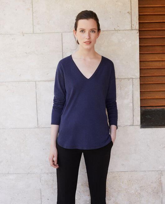 Cotton T-shirt PEACOAT