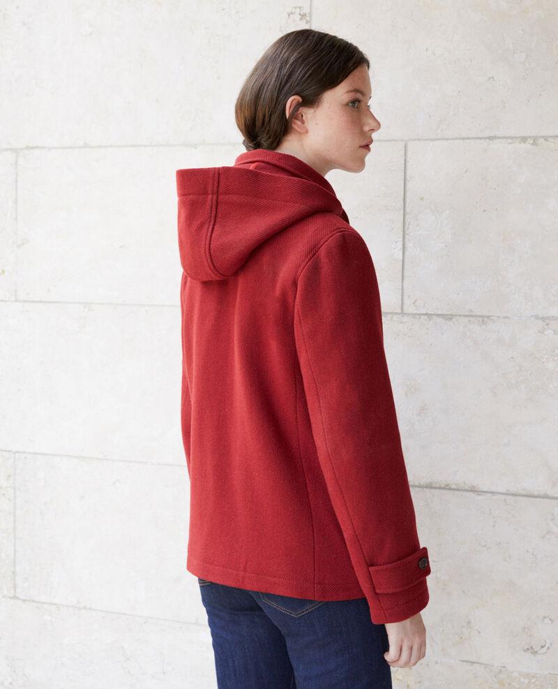Short duffle coat Red Gouziern