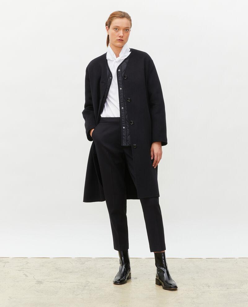 Double-sided wool coat Black beauty Muuck