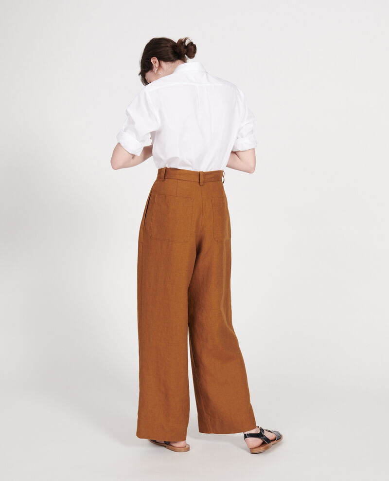Linen trousers Monks robe Lafare