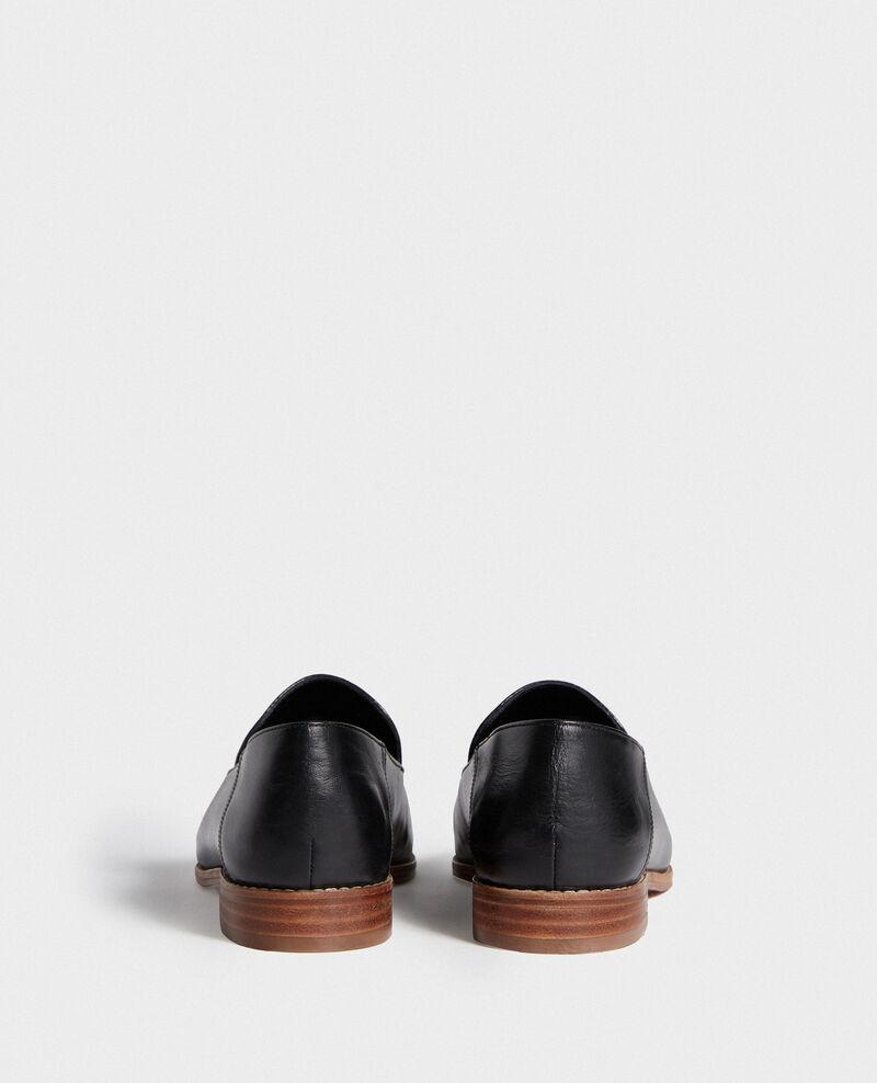 Leather mocassins Black beauty Legitime