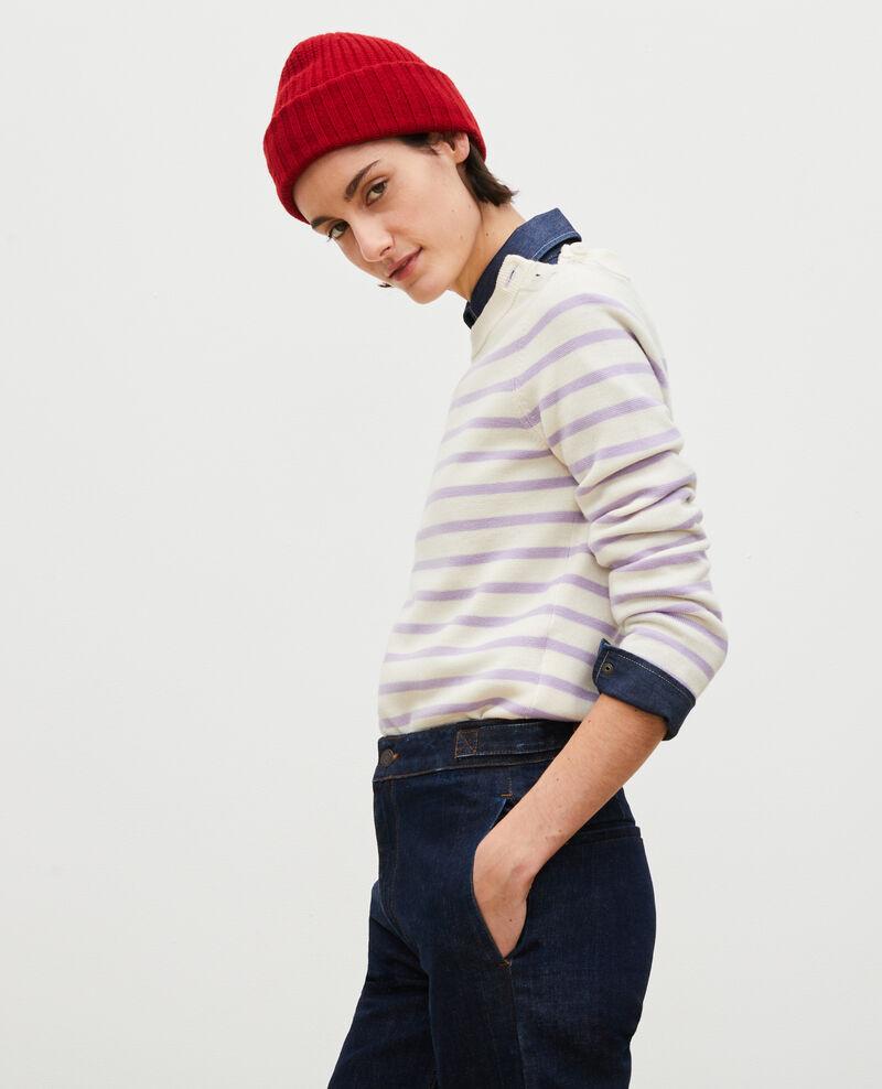 Striped wool jumper Str_jetstr_lil Liselle