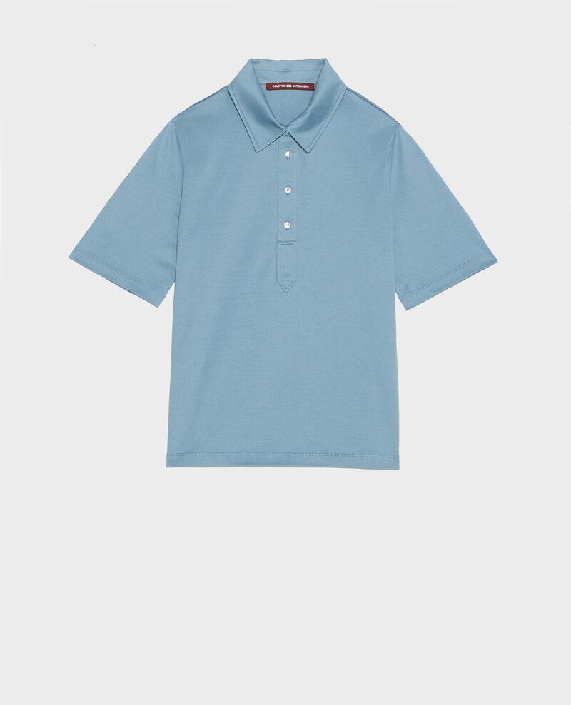 Egyptian cotton polo shirt Bluestone Levas
