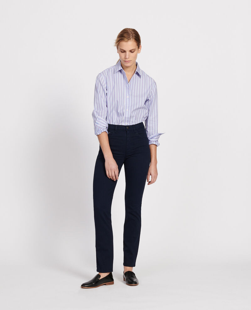 Straight-leg trousers Maritime blue Lozanne