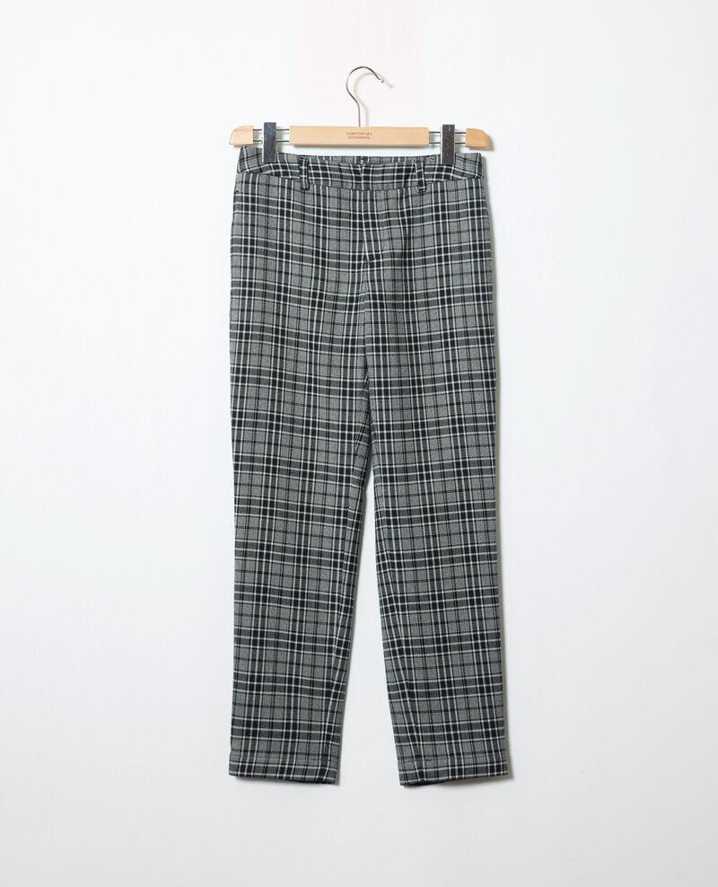Straight-leg trousers Prince de galles Jillica