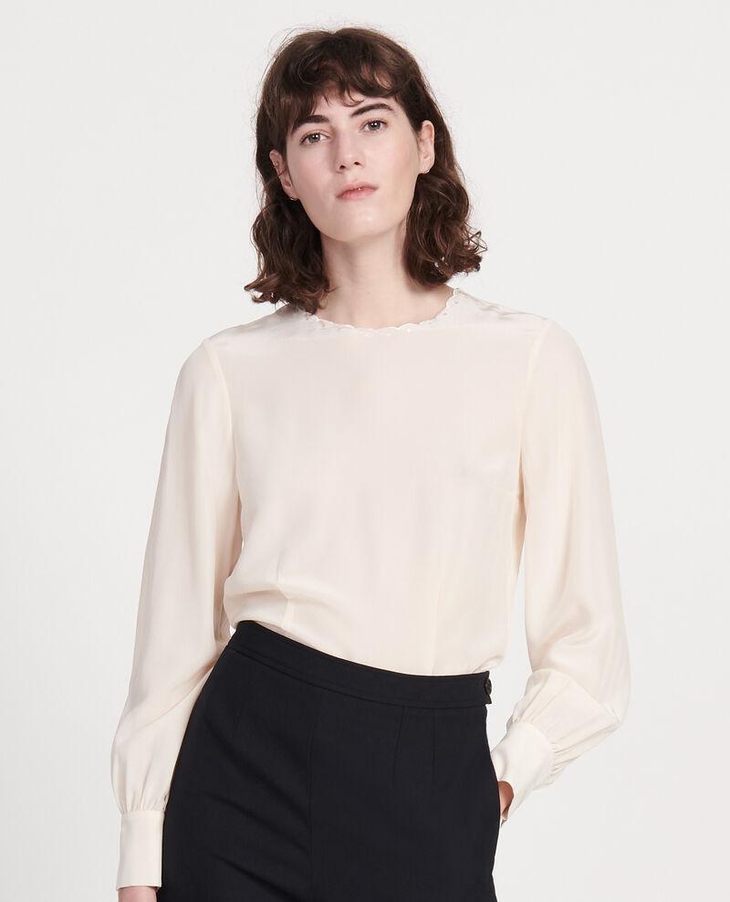 Embroidered blouse Buttercream Lolape