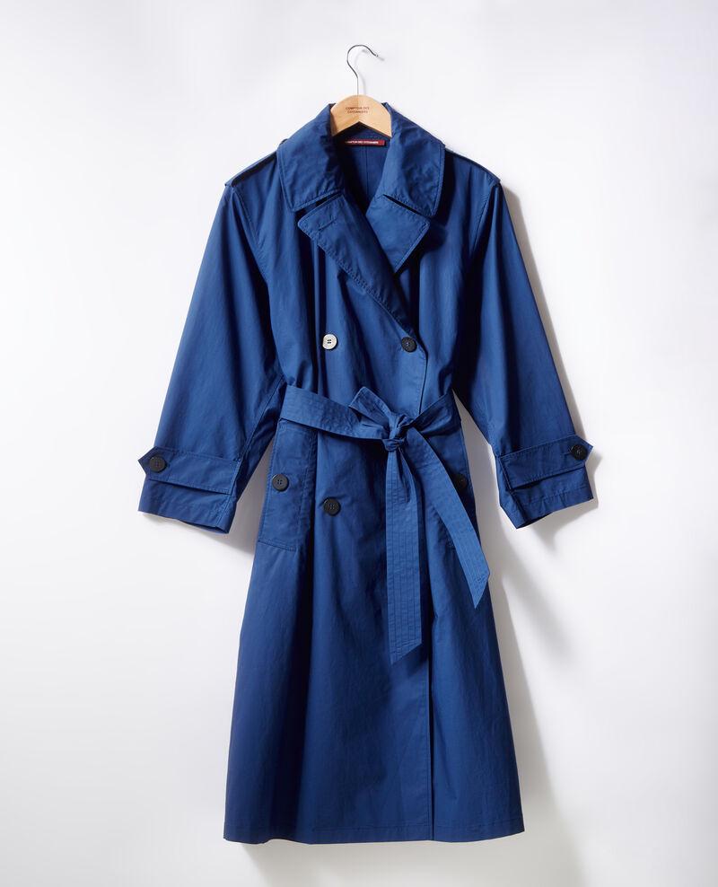 Light trench coat Indigo 9fleur