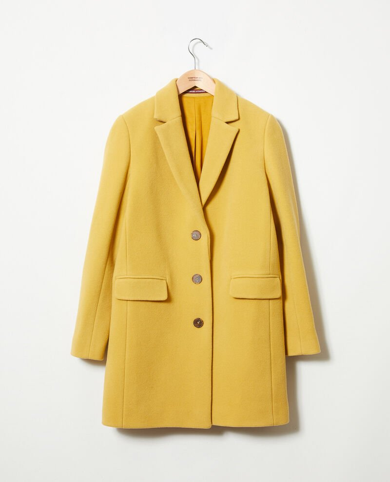 Coat with lapels Sauterne Jasmere