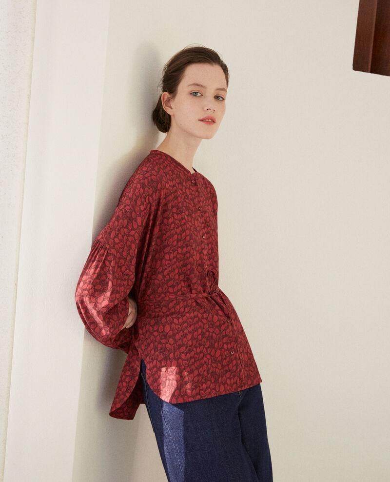 Loose blouse Ld rio red Garuya