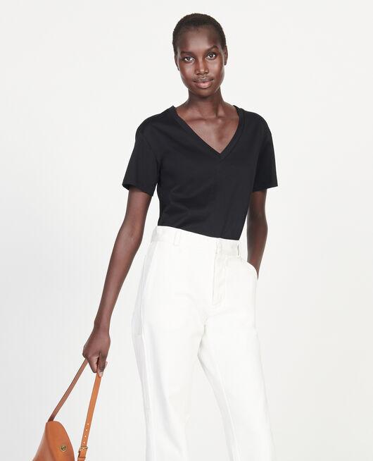 Egyptian cotton t-shirt BLACK BEAUTY