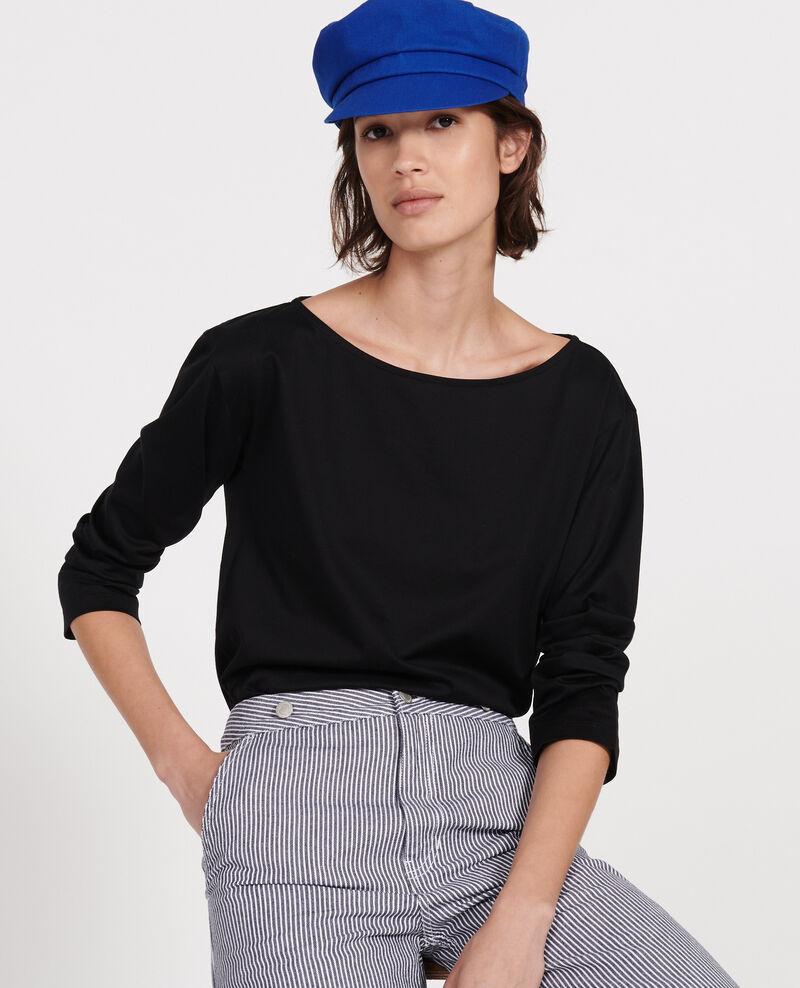 Egyptian cotton T-shirt Black beauty Lotel