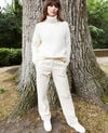 Roll neck jumper Off white Joomia