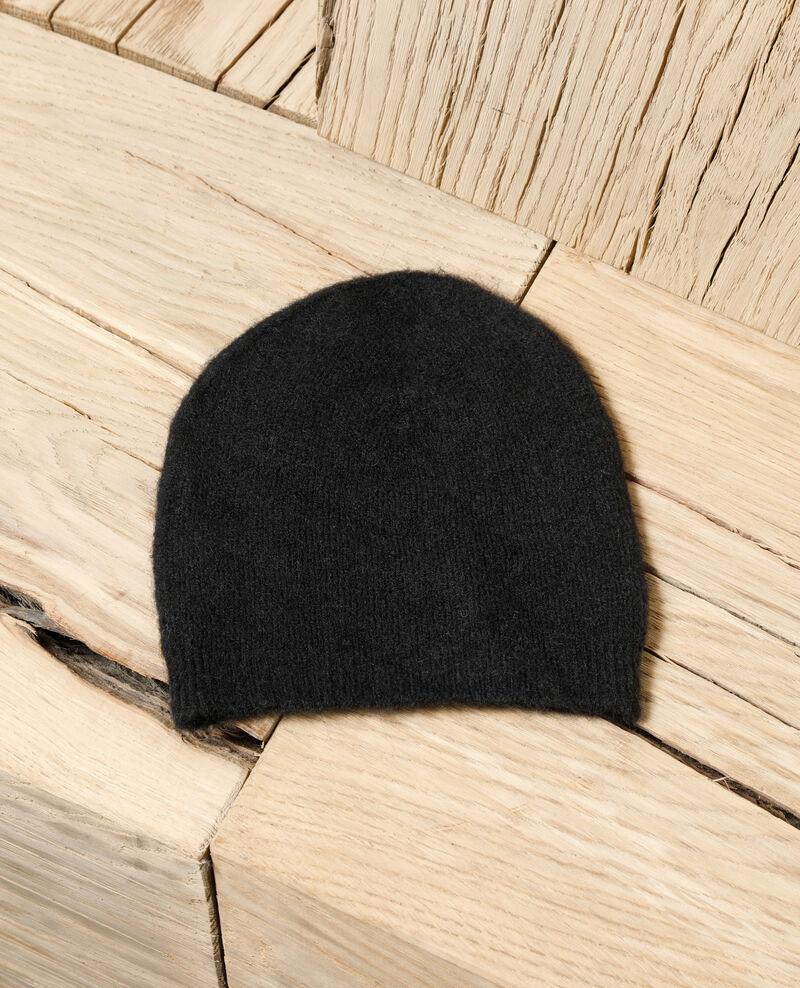 Fluffy beanie Black Glaner