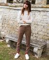 Straight-leg trousers Houndtooth Jillica