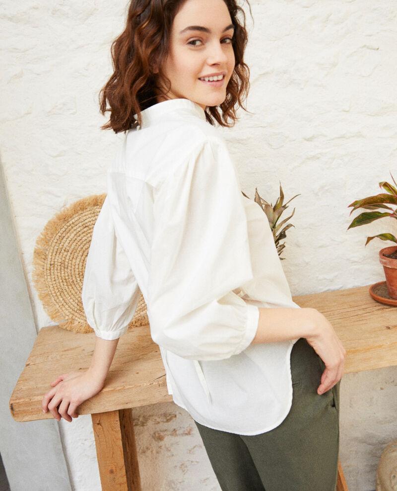 Yoke blouse Blanc Itape