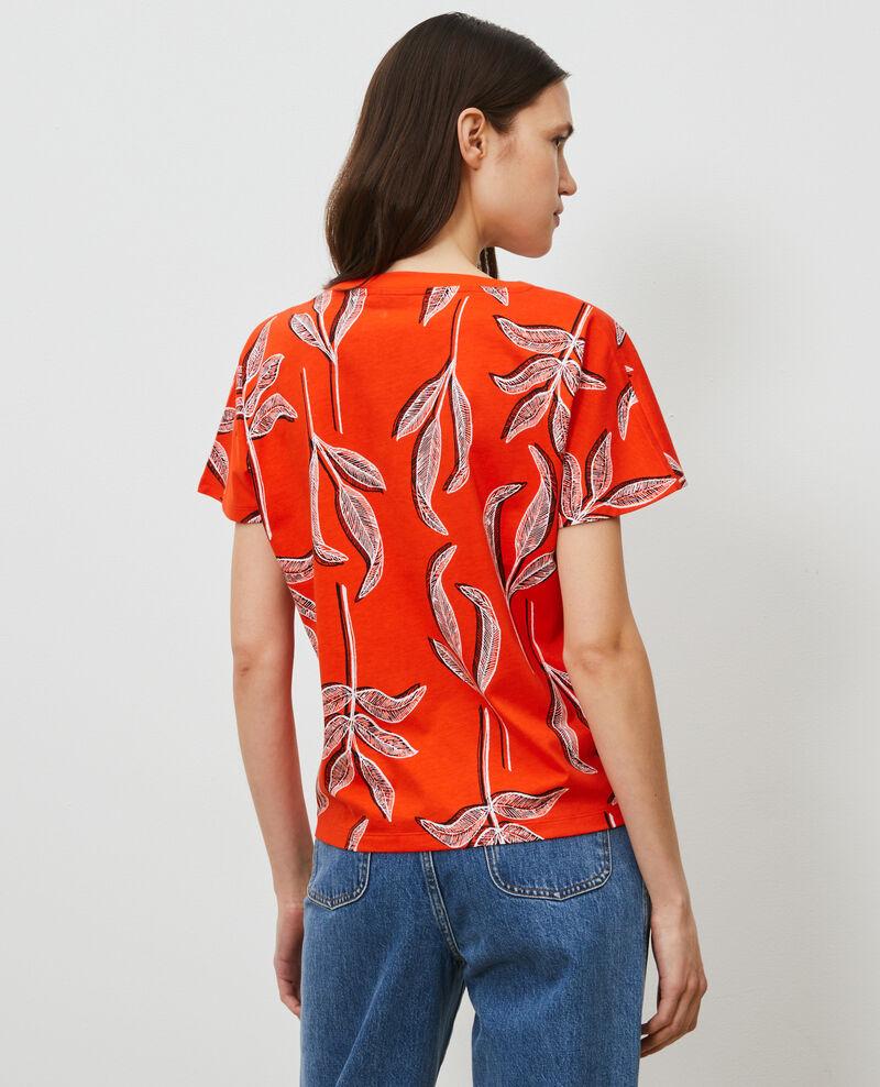 Round neck cotton t-shirt Prt bot spicy Nimeric