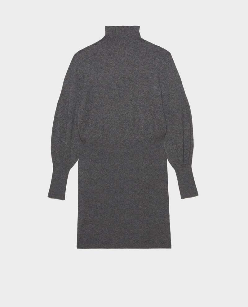 Cashmere jumper dress Medium grey melange Manin