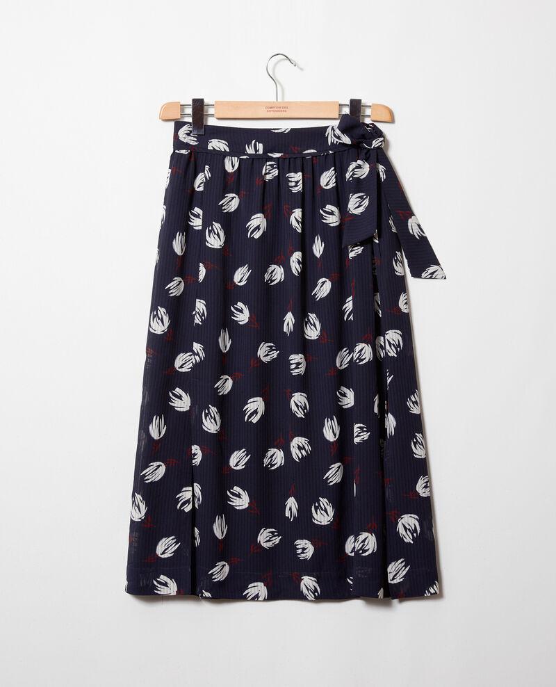Wrap skirt Tulip evening blue Jaude