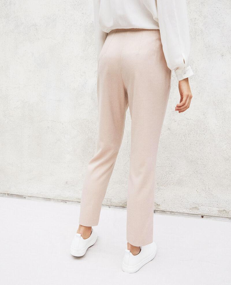 Straight-leg trousers Pink beige Ilda