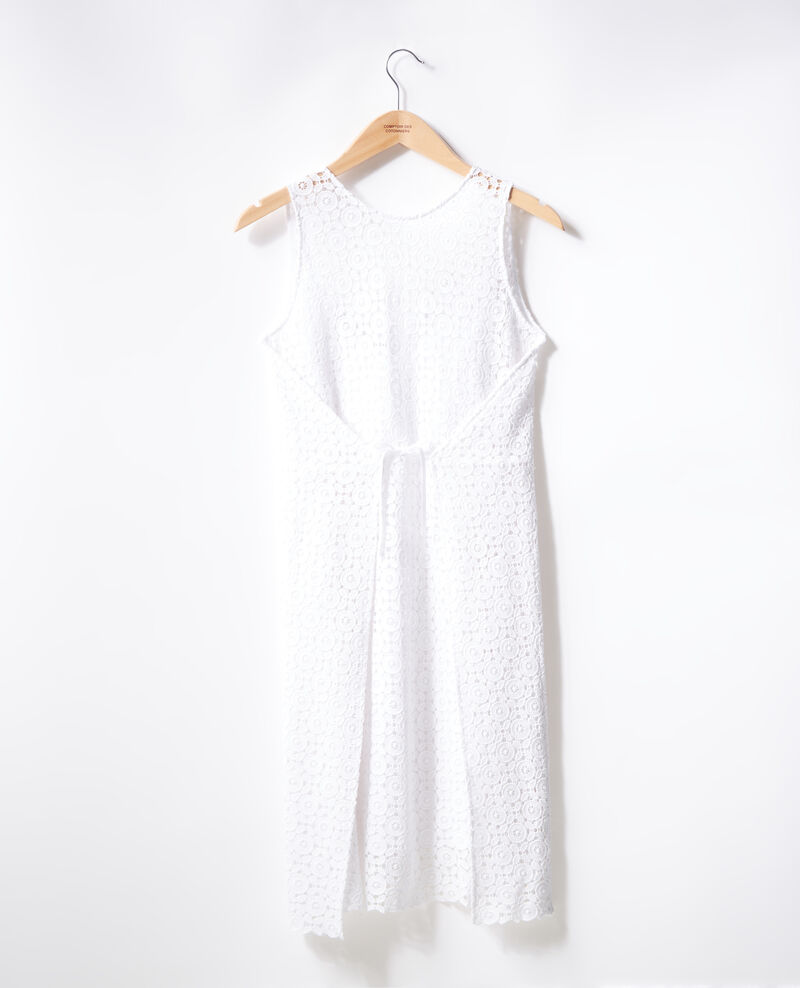 Lace dress Blanc Fontpellier