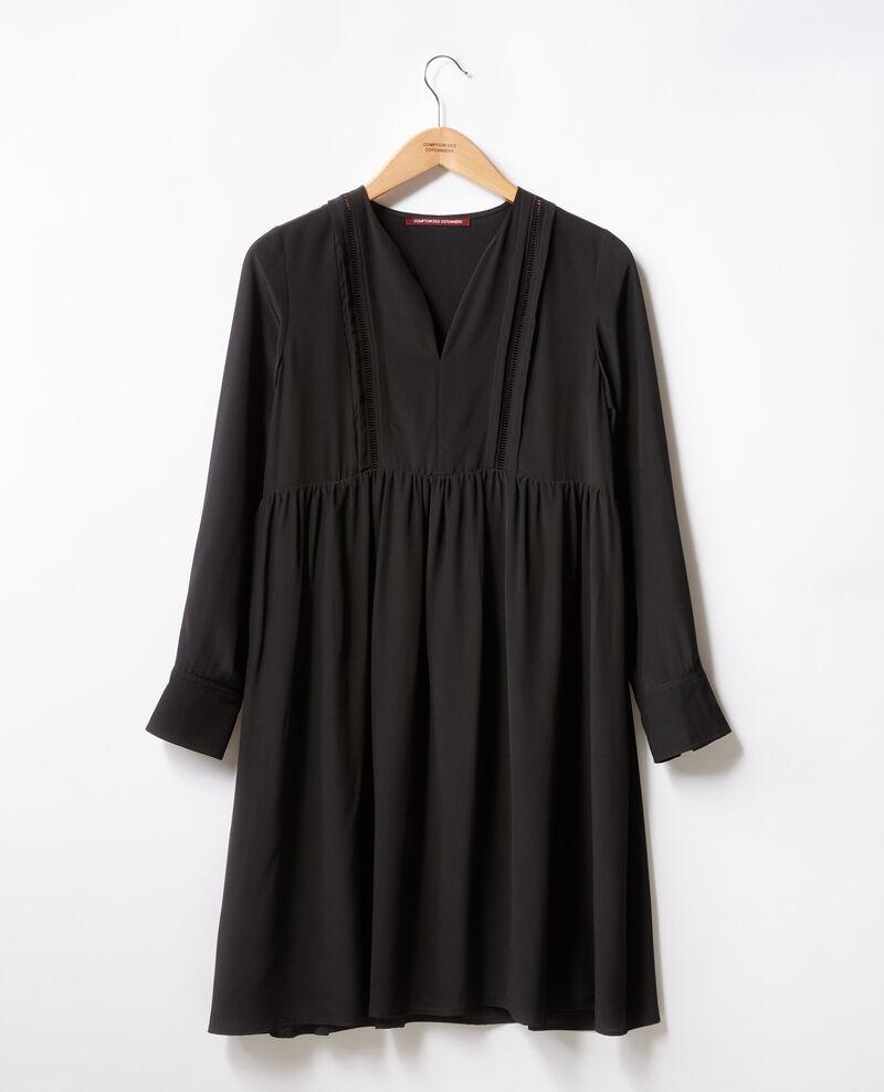 Silk dress Noir Fomme