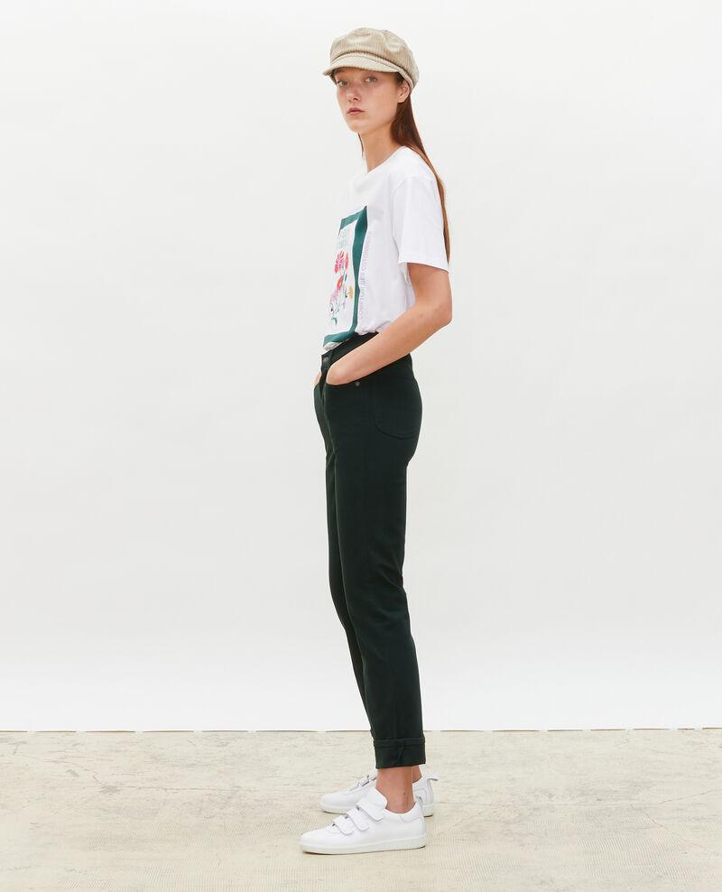 SKINNY - 5 pocket jeans Scarab Mozakiny