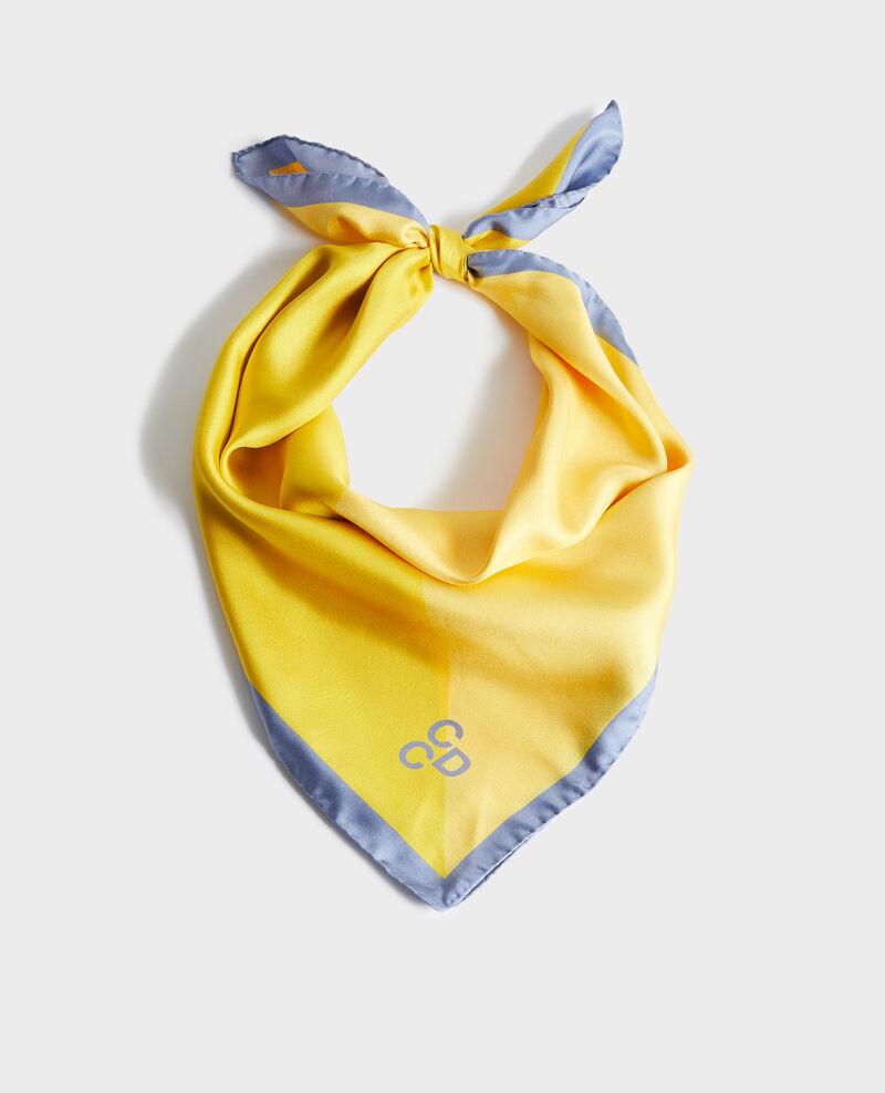 Square silk scarf Infinity Nassana