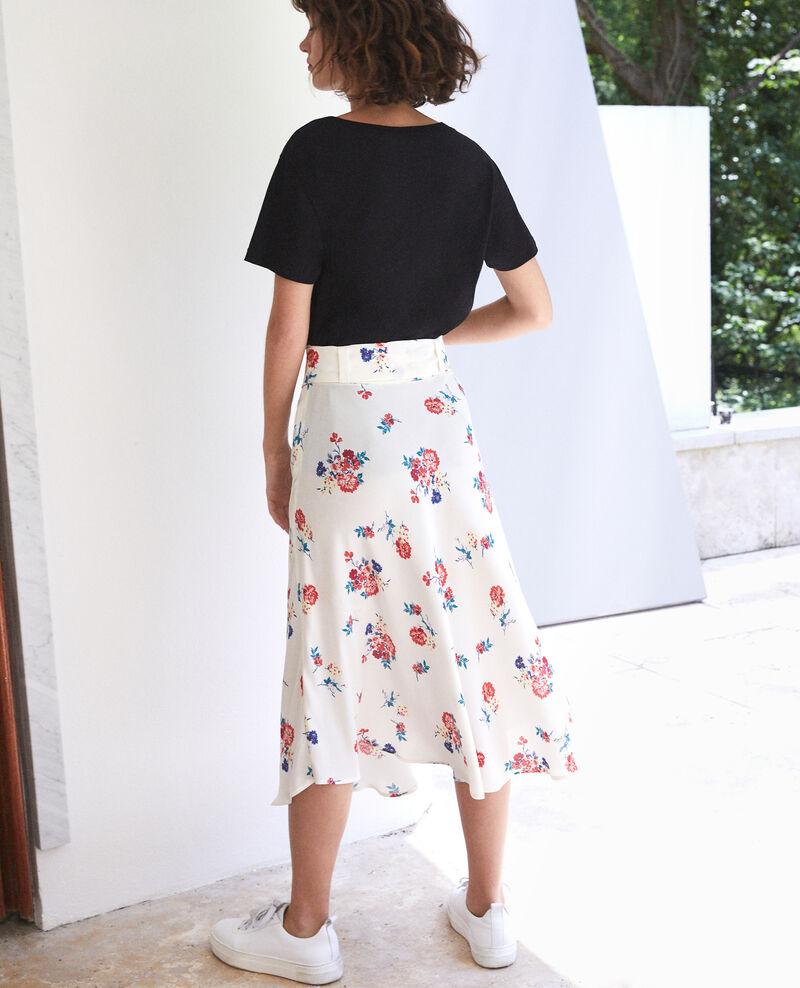 Belted skirt White Flease