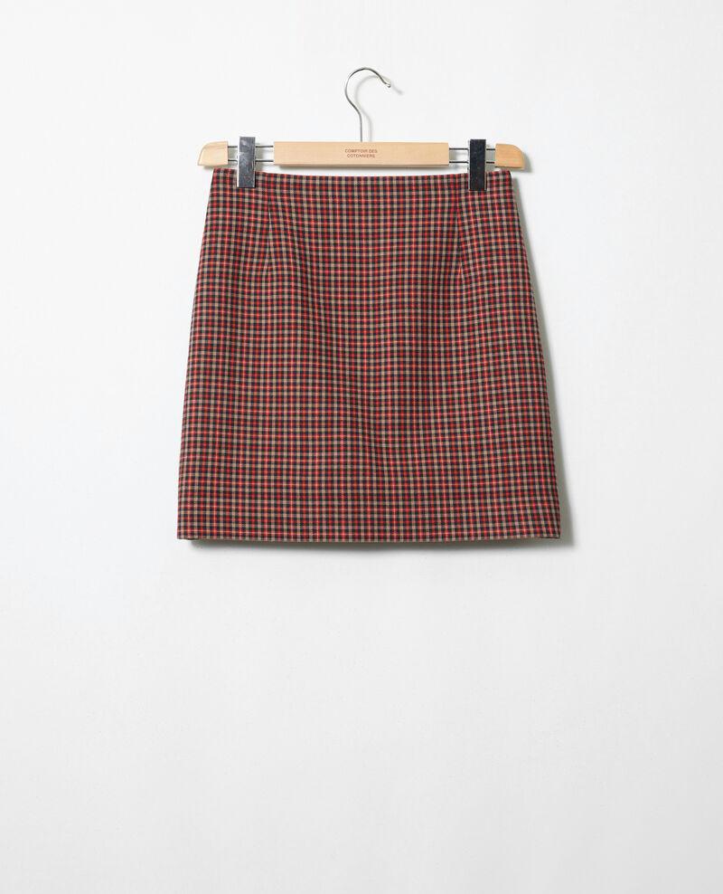 Printed straight skirt Gun club Jofte