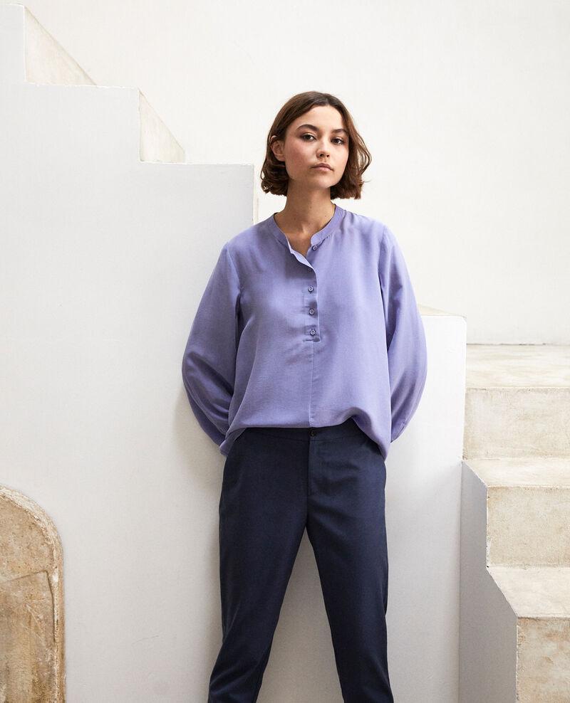 Loose tunic Purple blue Innocent