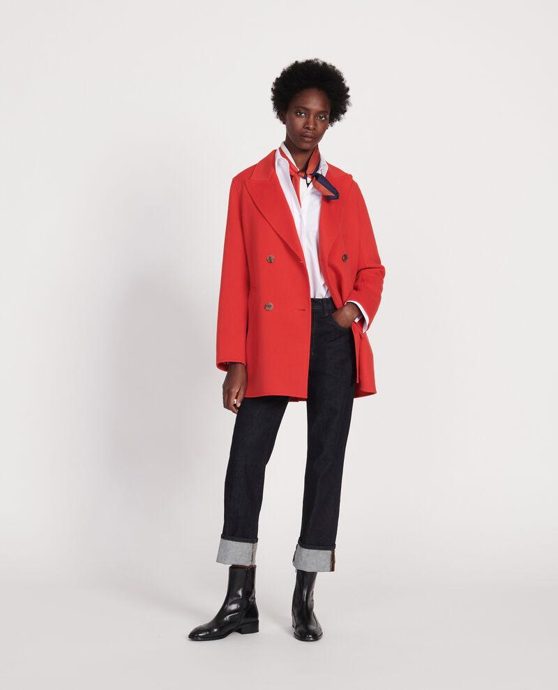 Short coat Fiery red Lintot