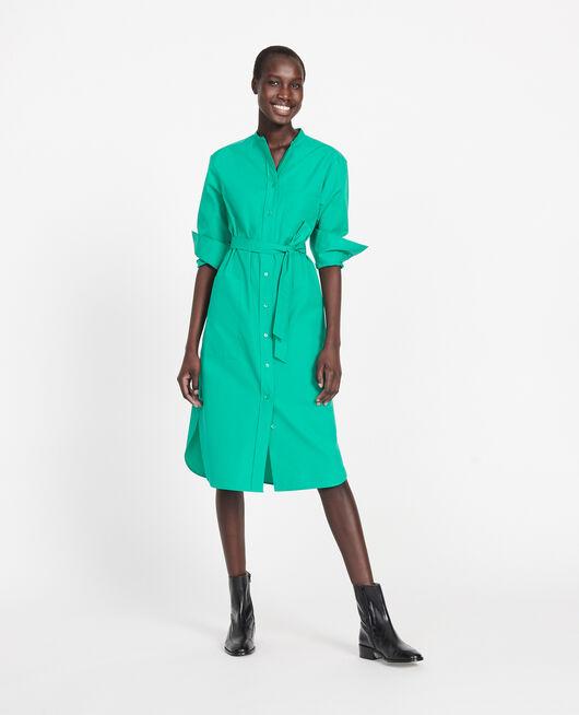 Oversize maxi dress GOLF GREEN