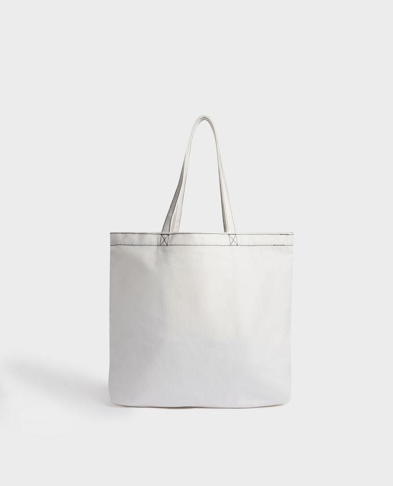 Printed canvas bag Black beauty Macao