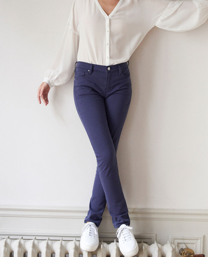 Slim fit jeans Medieval blue Goneto