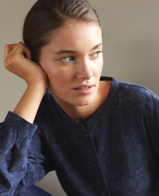 Loose blouse Blue