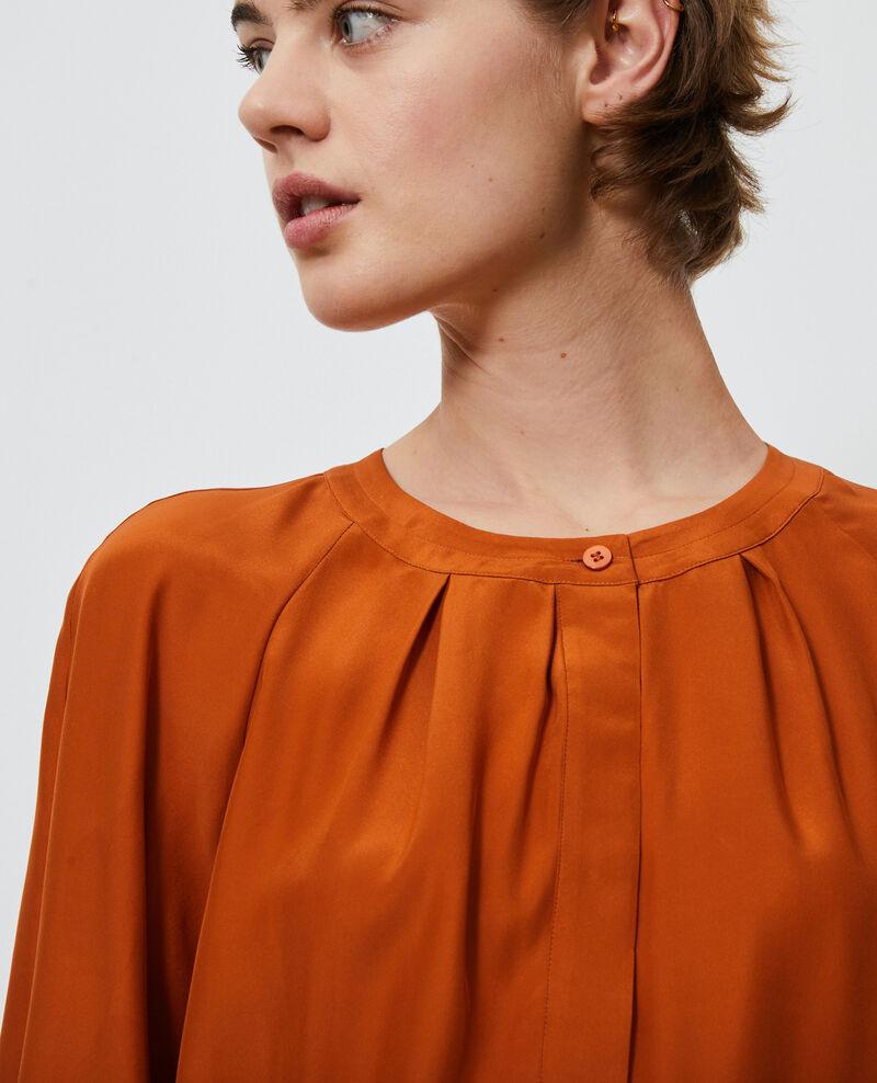 Loose silk blouse Umber Nadillac