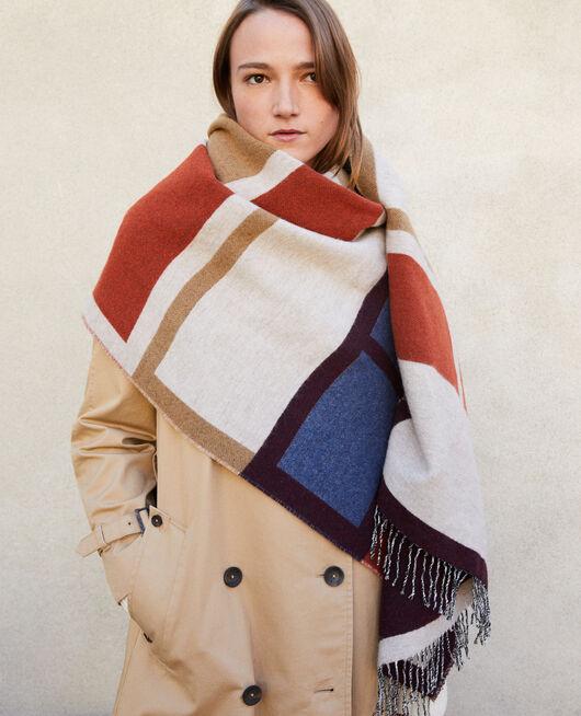 Long scarf DECADENTE CHOCOLATE/PEACOAT