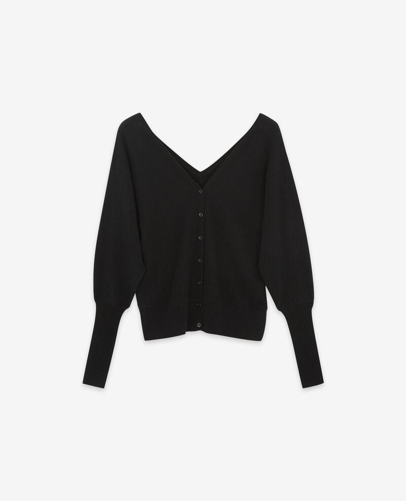 100% cashmere cardigan Noir Dusexy