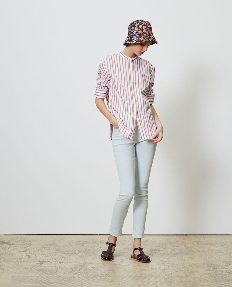 DANI - SKINNY - High waisted jeans Bleach blue Naira 1